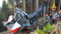 Continua sul Mottarone il lavoro dei Vigili del Fuoco per la rimozione della cabina precipitata
